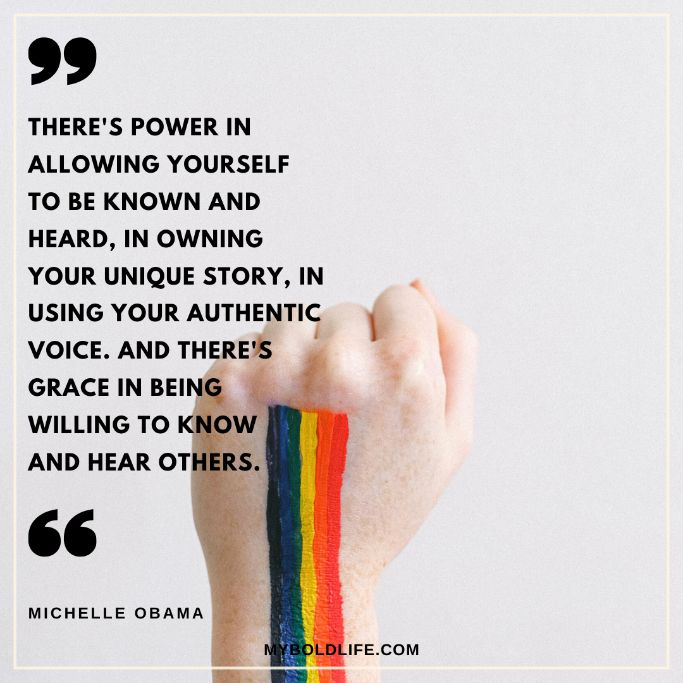 badass quote about using your authentic voice