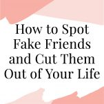 how to spoke fake friends cover